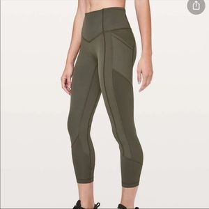 Lululemon All The Right Places Crop II leggings